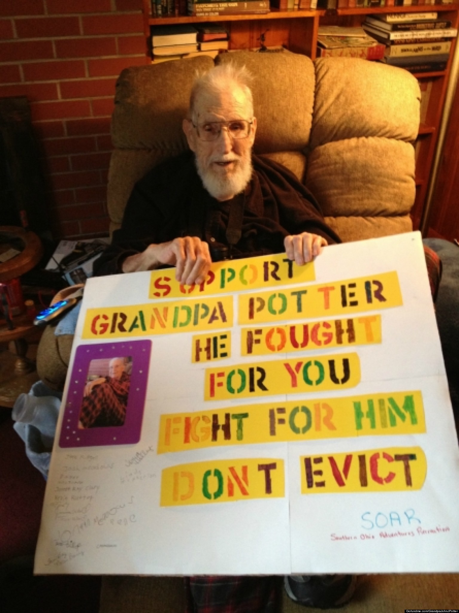 WWII Vet Evicted By Daughter; Strangers Rally To Help Save His Home