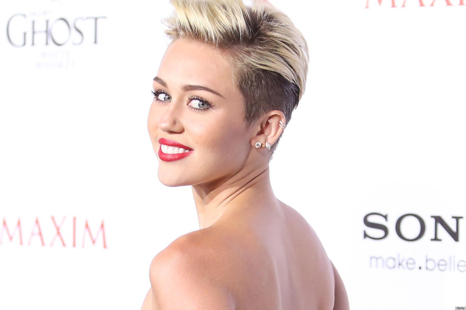 Miley cyrus nude maxim, older bimbo secretary sex pics