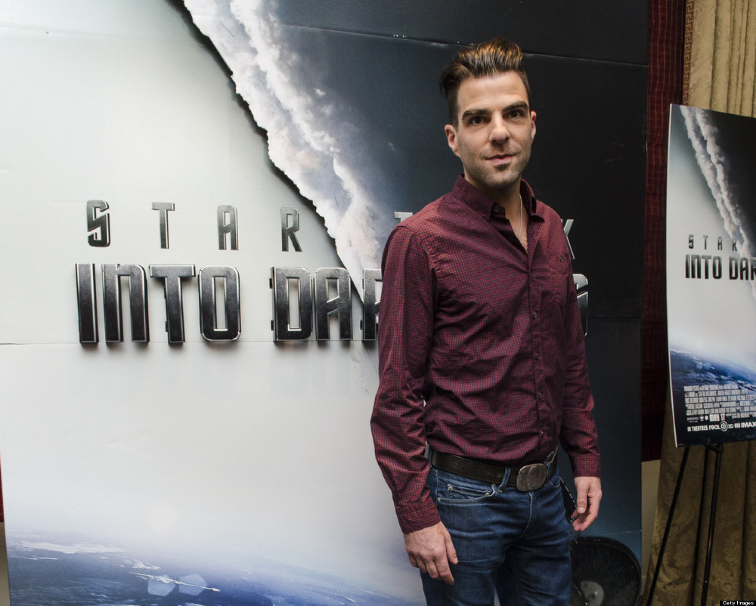 Zachary Quinto Gets Political At 'Star Trek Into Darkness' DC Premiere