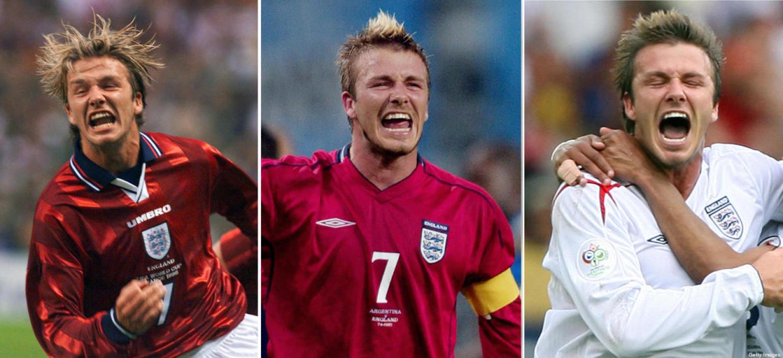 david beckham goles: