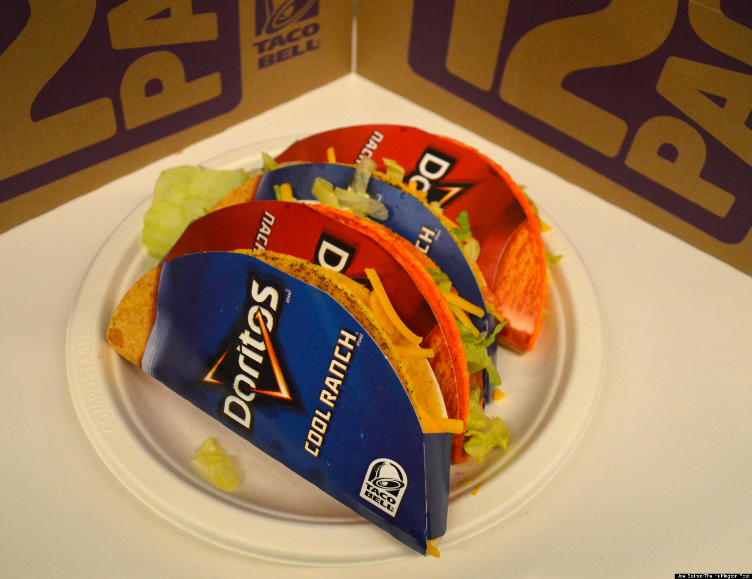 Inmate Sues Taco Bell, Says Idea For Doritos Locos Tacos Was His