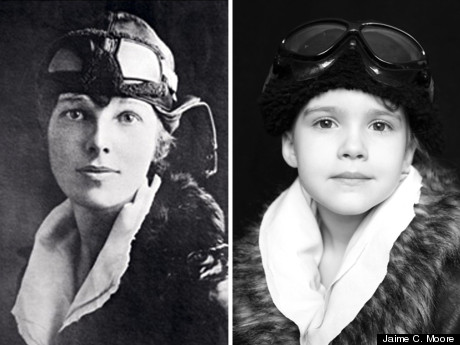 LOOK: Five-Year-Old Girl Recreates Iconic Women's Portraits