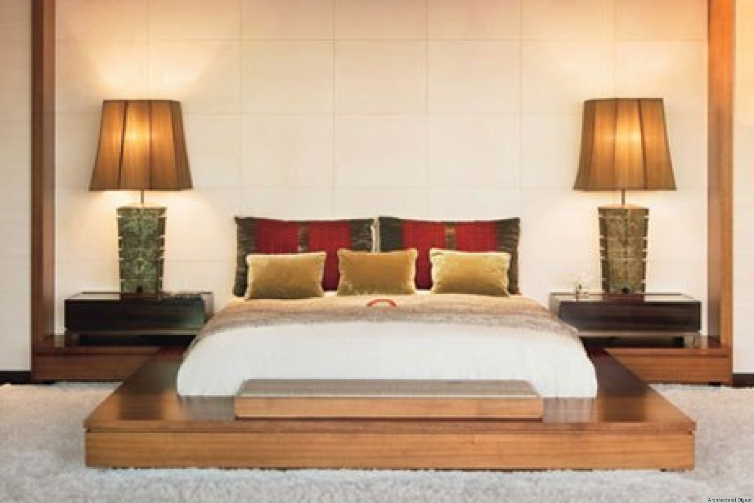 10 celebrity bedrooms from architectural digest that we for Bedroom photos