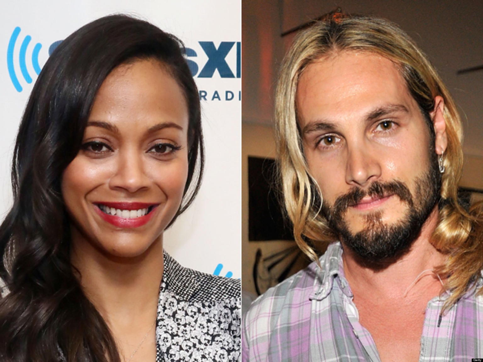 Zoe Saldana Marco Perego Dating Star Trek Actress Seen With New Man Report
