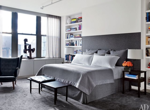 10 celebrity bedrooms from architectural digest that we want to take a nap in photos huffpost. Black Bedroom Furniture Sets. Home Design Ideas