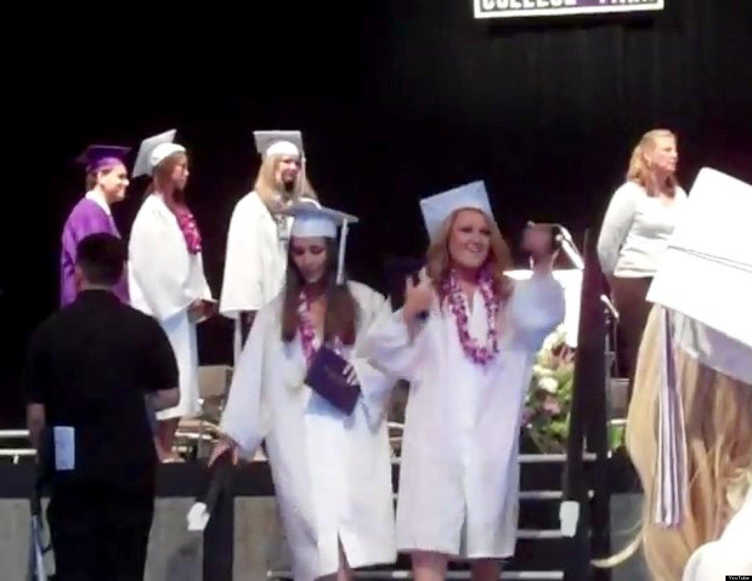 13 Awkward Graduation Moments