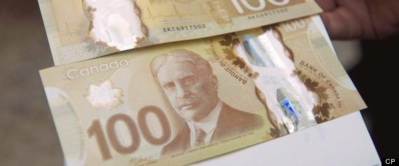 100 BILL CANADA