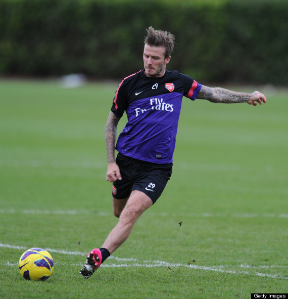 beckham arsenal