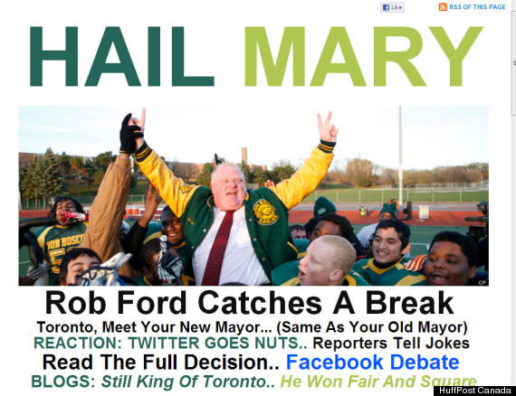 rob ford hail mary