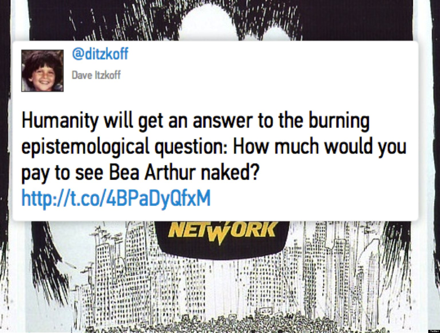The Best Tweets About 'Bea Arthur Naked'