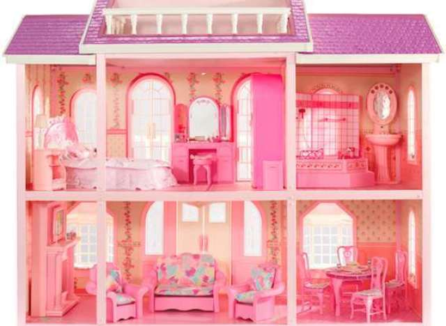 Barbie 39 s dreamhouse would be hella expensive if it were for Accessoire maison barbie