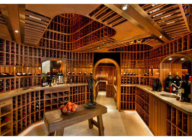 The 10 most over the top wine cellars that money can buy for Luxury home wine cellars