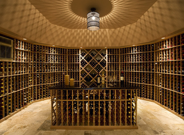 the 10 most over the top wine cellars that money can buy photos huffpost. Black Bedroom Furniture Sets. Home Design Ideas