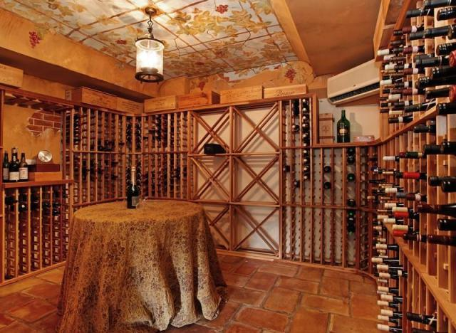 The 10 Most Over The Top Wine Cellars That Money Can Buy