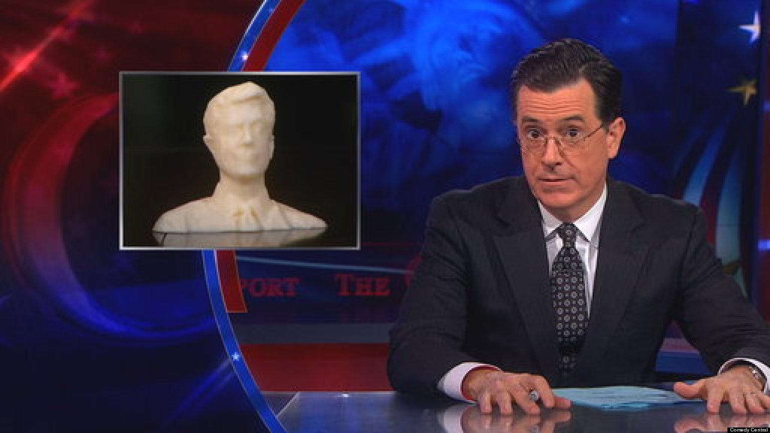 WATCH: Colbert Takes Down 3D Gun Toting Texan