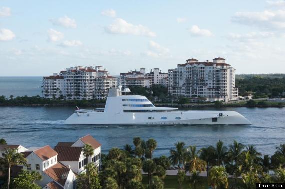 yacht miami starck
