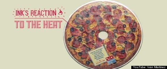 DVDS DOMINOS PIZZA