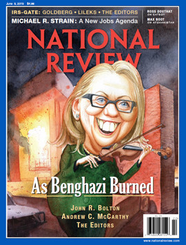 nr cover clinton benghazi