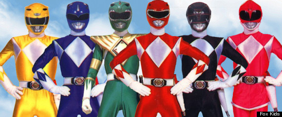 POWER RANGERS REUNION