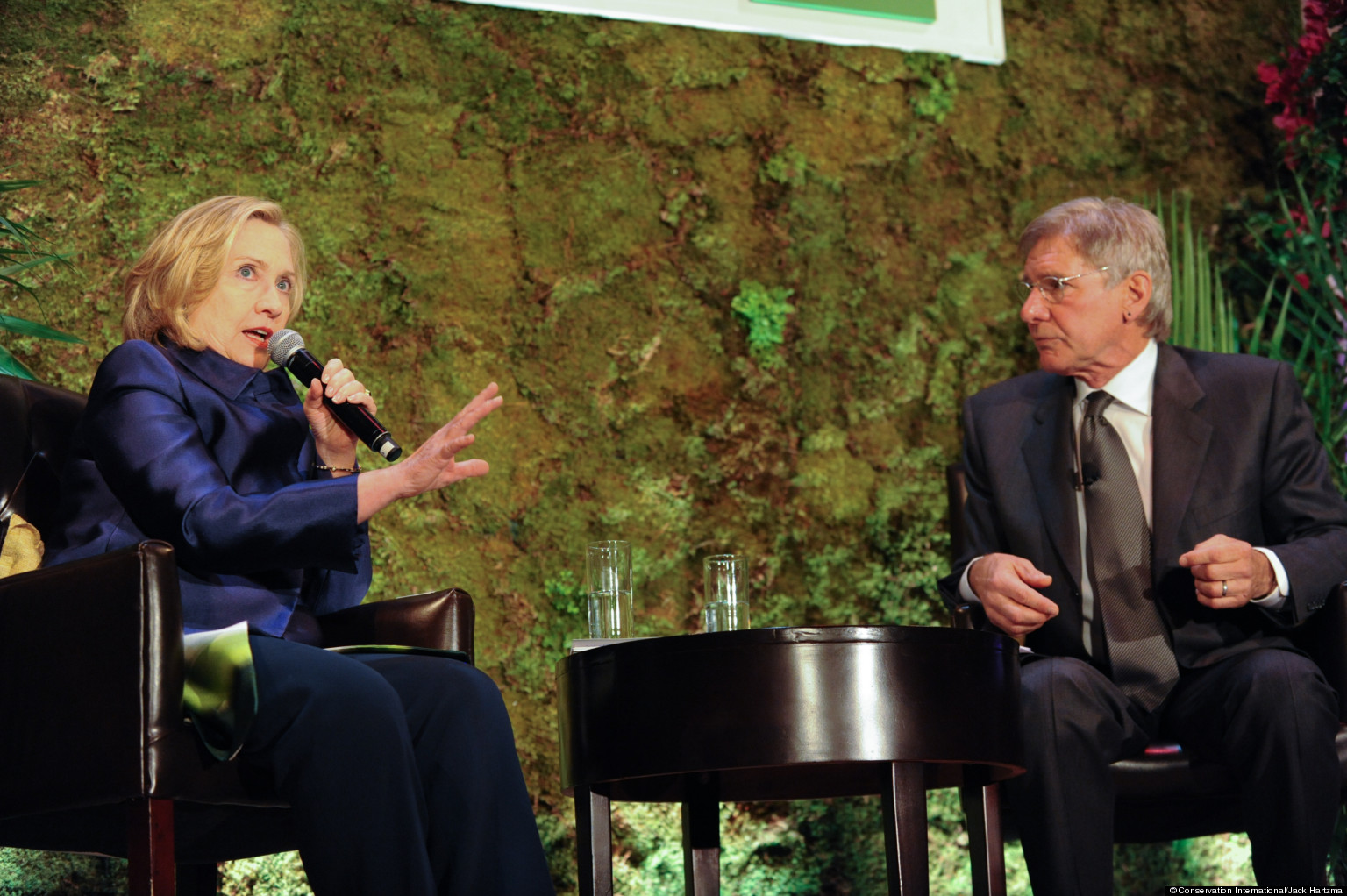 Hillary Clinton Weighs In On Climate Change
