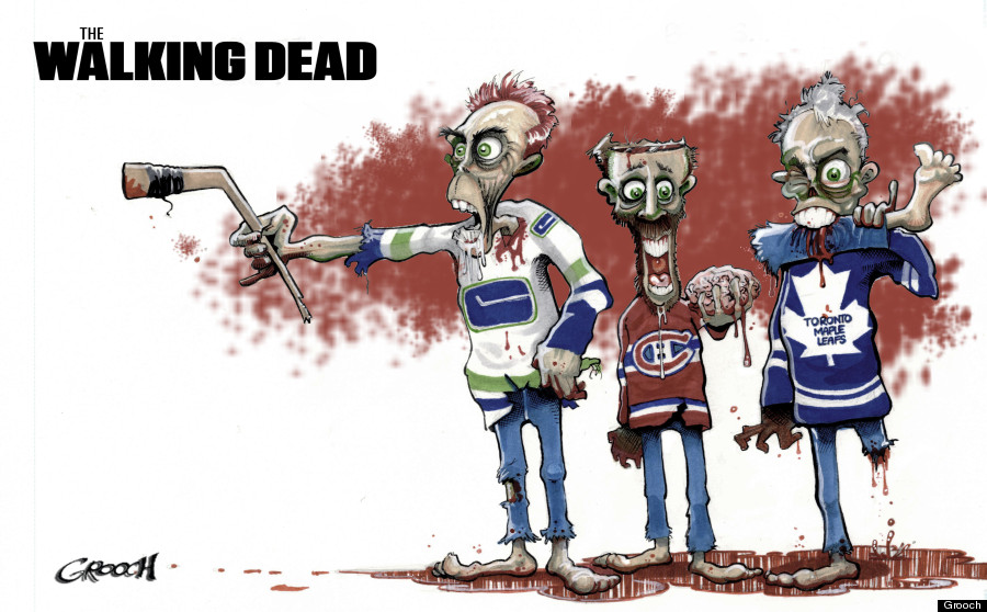 nhl playoffs 2013 the walking dead