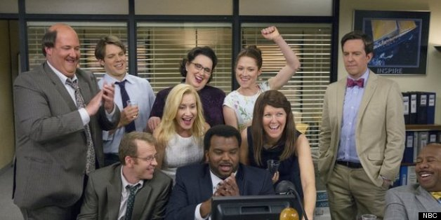 39 the office 39 finale ratings thursday 39 s episode hits season high huffpost - The office season 9 finale ...