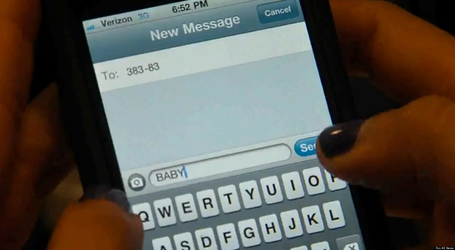 Would You Adopt A 'Text Baby'? (VIDEO)