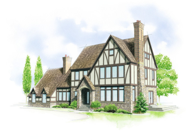 Learn the language of your home 10 popular house styles for Tudor colonial style home