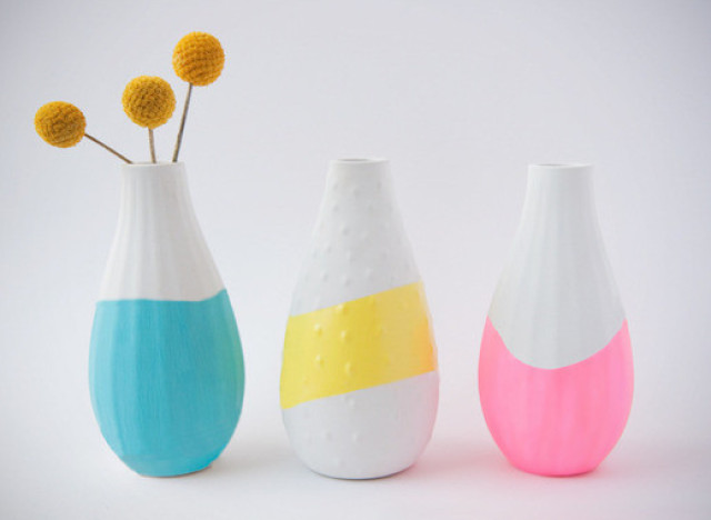 paint dipped crafts