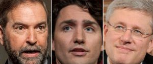 MULCAIR TRUDEAU HARPER ELECTION 2015
