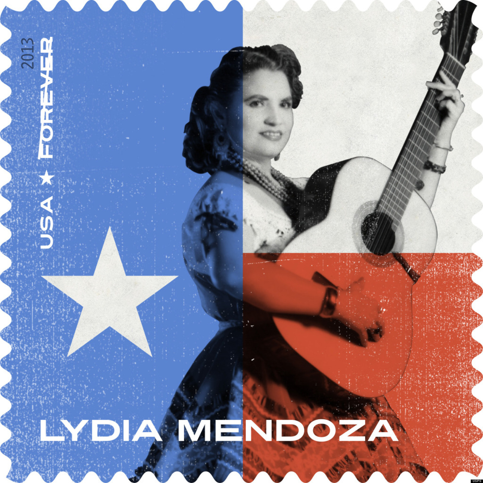 Lydia Mendoza, Tejano Singer, Commemorated With Stamp By U ...