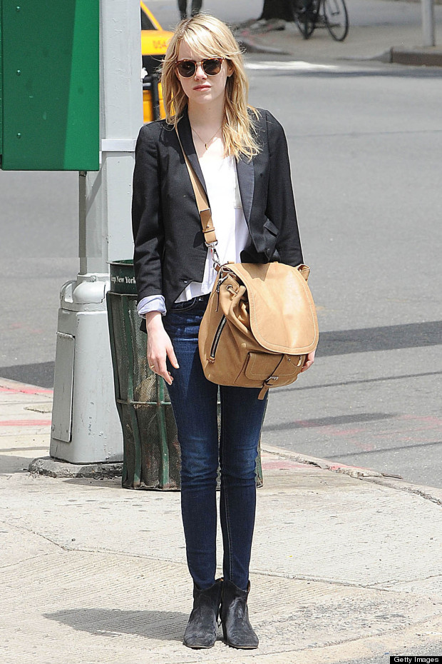 Emma Stone Looks Cool And Casual While Out In New York