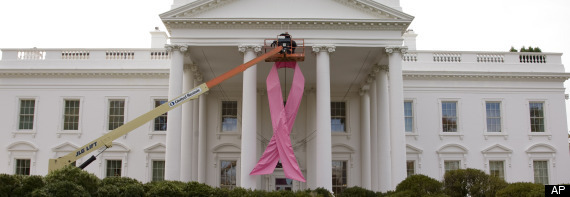 White House Pink Ribbon
