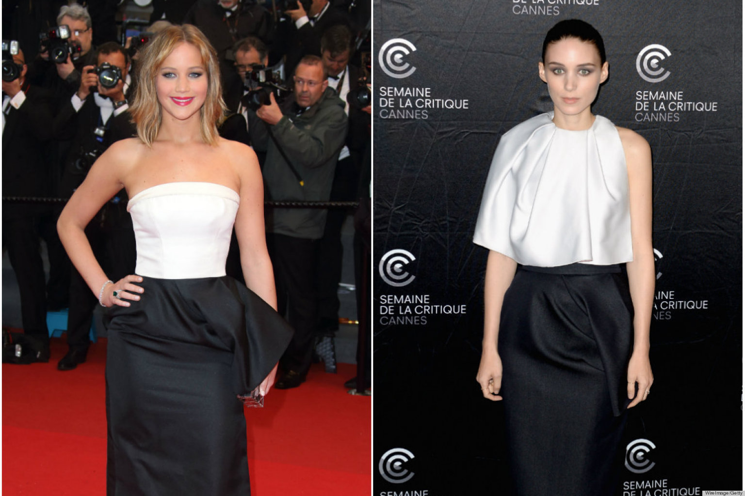 PHOTOS: Rooney Mara & Jennifer Lawrence Look Awfully Similar...