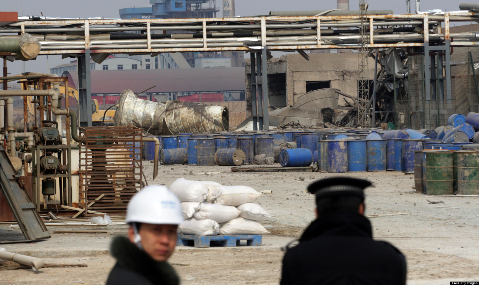 5 Dead, 20 Missing In China Factory Explosion
