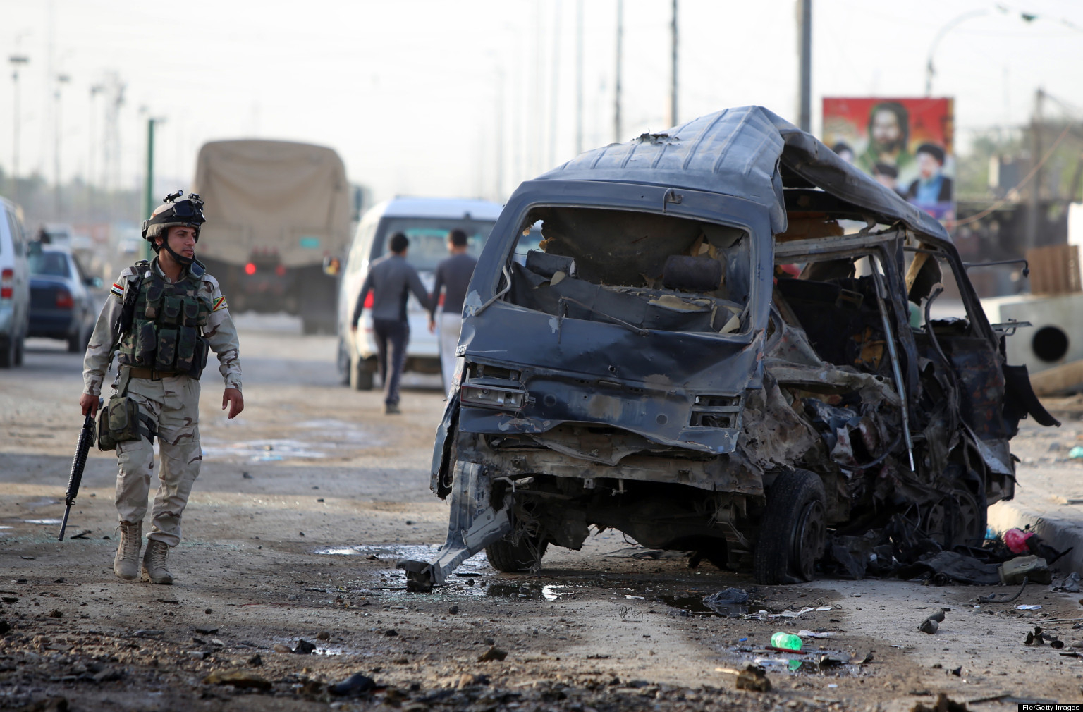 String Of Deadly Bombings Hit Baghdad