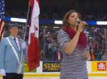 Alexis Normand Memorial Cup National Anthem