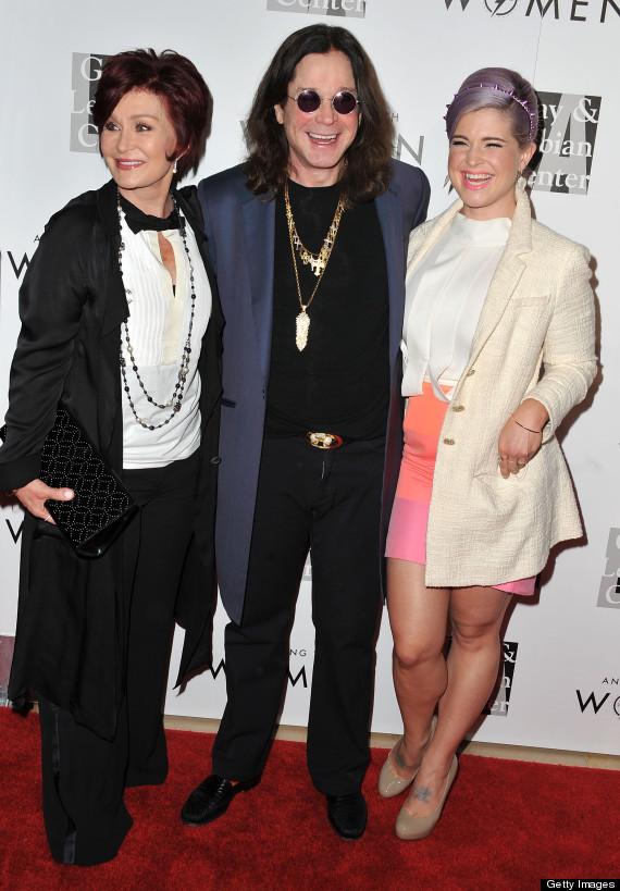 Ozzy  Sharon Osbourne Back Together At LGBT Event  PHOTOS Ozzy And Sharon Osbourne Kids