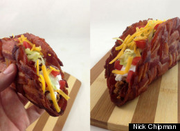 How to Make a Bacon Weave Taco