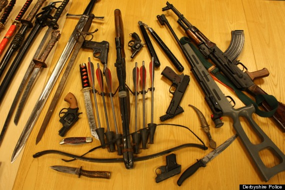 ak47 weapons amnesty