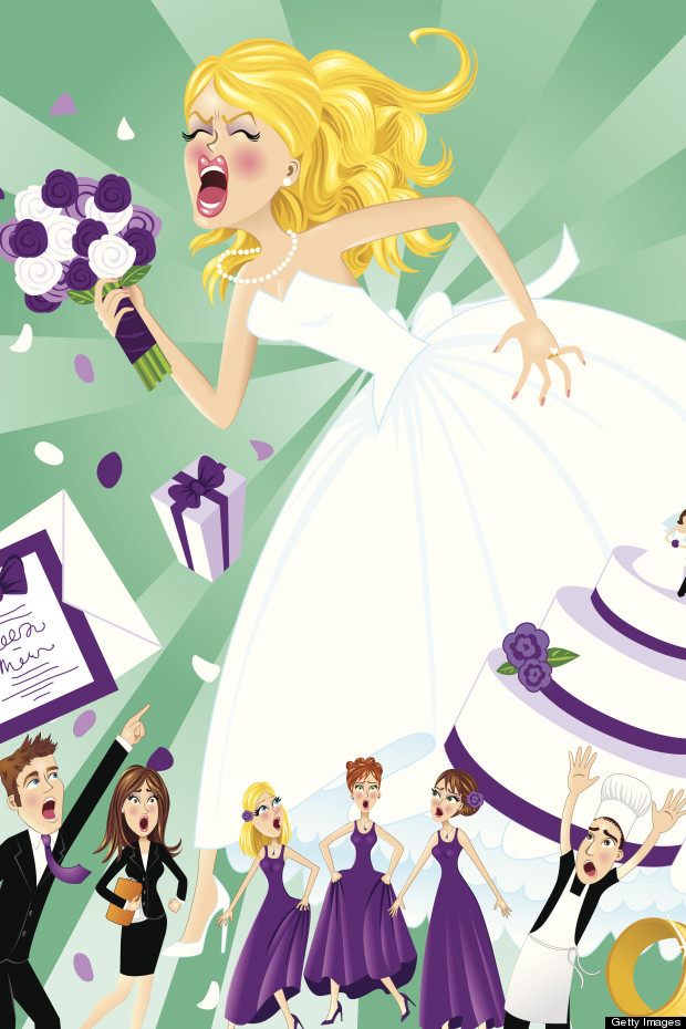 bridezilla illustration