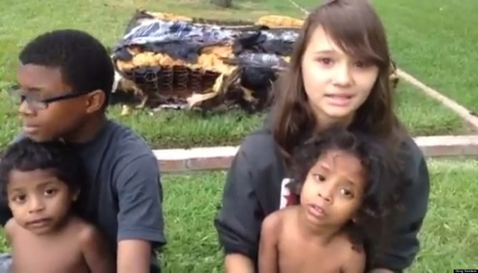 Teen Girl's Amazing Moment Of Valor During Home Fire