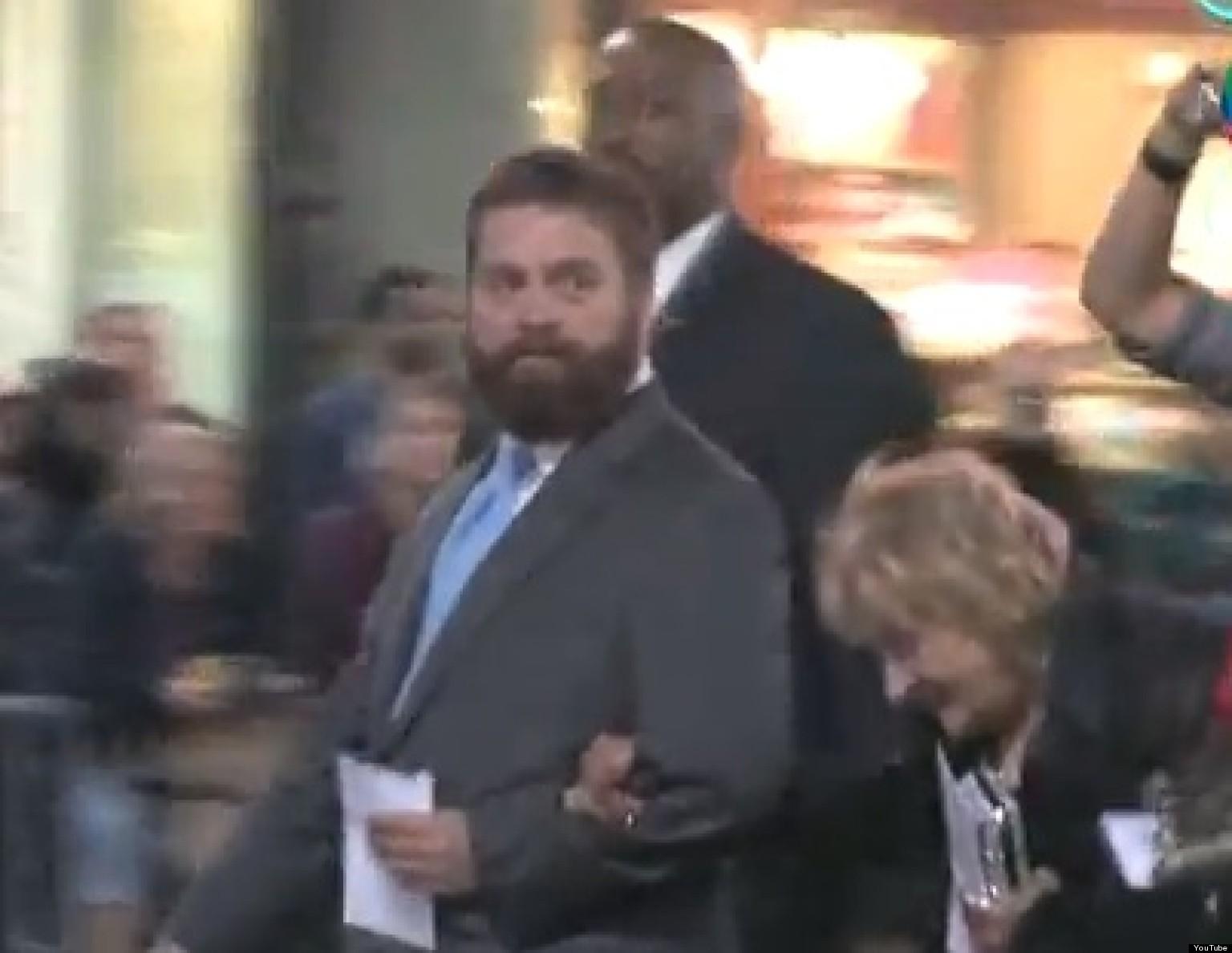 Zach Galifianakis To Take Elizabeth Mimi Haist Homeless