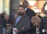 Zach Galifianakis Homeless Friend