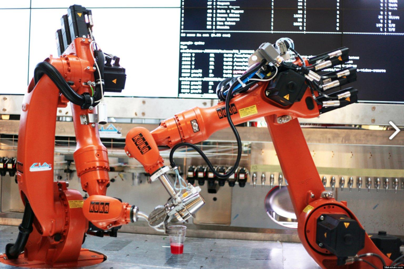 Легкий робот своими руками фото