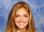 Kate Upton Yearbook Photo
