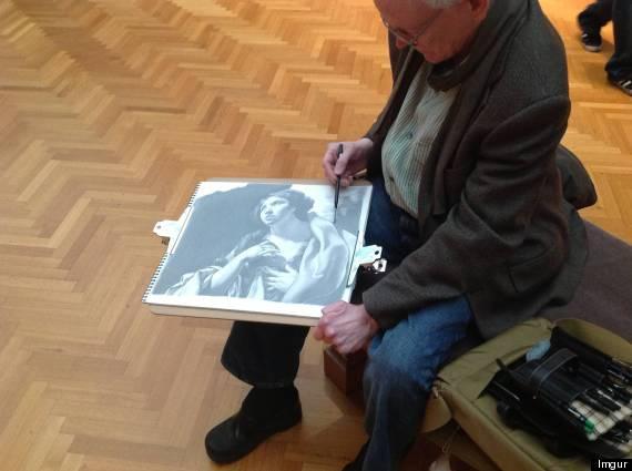 ron wilson museum drawings