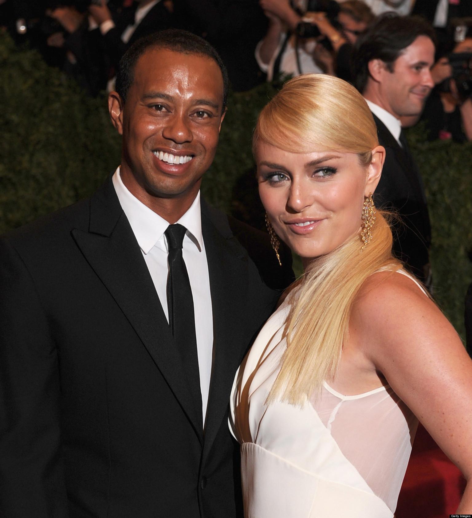 Tiger Woods, Lindsey Vonn Photographed In Las Vegas At