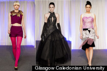 Glasgow Caledonian University Graduate Fashion Show 2013: Popping Brights And Attitude