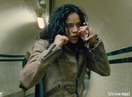Michelle Rodriguez Fight